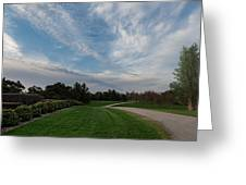 Pathway To The Sky Greeting Card