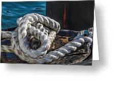 Ship Rope Greeting Card