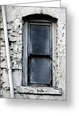 No View - Riverside Window Greeting Card