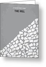 No091 My The Hill Minimal Movie Poster Greeting Card