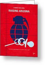 No477 My Raising Arizona Minimal Movie Poster Greeting Card