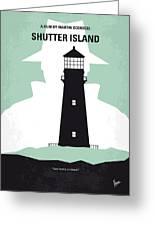 No513 My Shutter Island Minimal Movie Poster Greeting Card