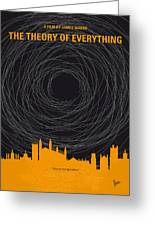 No568 My The Theory Of Everything Minimal Movie Poster Greeting Card