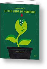 No611 My Little Shop Of Horrors Minimal Movie Poster Greeting Card