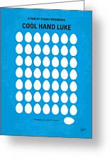 No616 My Cool Hand Luke Minimal Movie Poster Greeting Card