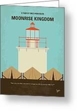No760 My Moonrise Kingdom Minimal Movie Poster Greeting Card