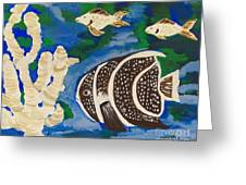 Noah's Aquarium Greeting Card by Marsha Heiken
