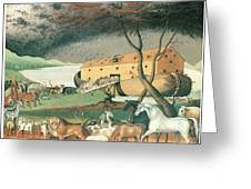 Noah's Ark Greeting Card by Edward Hicks