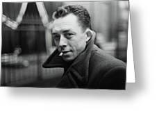 Nobel Prize Winning Writer Albert Camus Unknown Date #2 -2015 Greeting Card