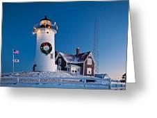 Nobska Light Greeting Card