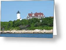 Nobska Point Lighthouse Greeting Card
