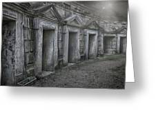 Nocturnal Alley Greeting Card
