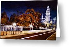 Nocturnal Cabrillo Greeting Card