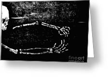 Nocturnal Caress Greeting Card