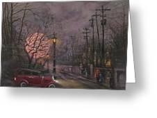 Nocturne In Lavender Greeting Card
