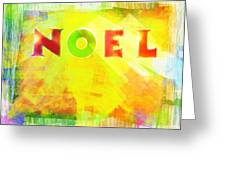 Noel Greeting Card by Jocelyn Friis