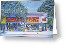 Noelia's Market Greeting Card