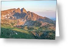 Nokhu Crags Sunrise Greeting Card