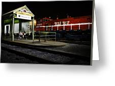 New Orleans Train Stop Greeting Card