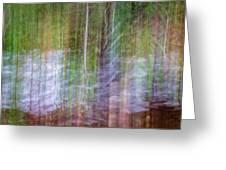 Noland Creek Abstract 1 Greeting Card