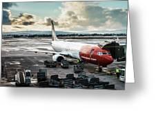 Norwegian Jet Greeting Card