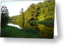 Nore Reflections I Greeting Card