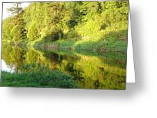 Nore Reflections II Greeting Card