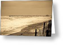 Nor'easter At Nags Head Greeting Card