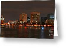Norfolk Cityscape Greeting Card