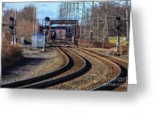 Norfolk Southern Engine 5664 Greeting Card