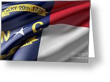 Norh Carolina State Flag Greeting Card