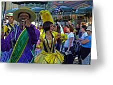 N'orleans Groove Greeting Card