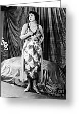 Norma Talmadge Greeting Card
