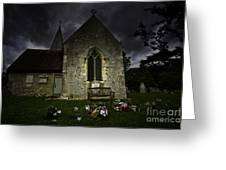 Norman Church At Lissing Hampshire England Greeting Card