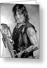Norman Reedus Greeting Card