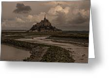 Normandy Clouds Greeting Card