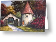 Normandy Garden Greeting Card
