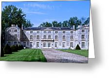 Normandy Manor House Greeting Card