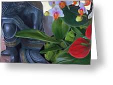 Norma's Buddha Greeting Card