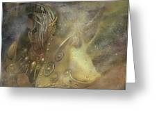 Norse Warrior Greeting Card