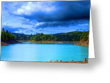 North Alder Lake Greeting Card