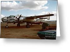 North American B-25 Mitchell Greeting Card
