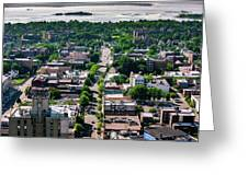 North Ave New Rochelle Greeting Card