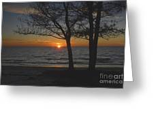 North Beach Sunset Greeting Card by David Lee Thompson