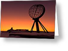 North Cape Norway At The Northernmost Point Of Europe Greeting Card