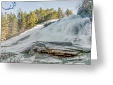 North Carolina - Dupont State Forest - Waterfall Collection Greeting Card