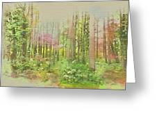 North Carolina Forest Greeting Card