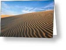 North Carolina Jockey's Ridge State Park Sand Dunes Greeting Card