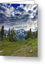 North Cascades National Park - Washington Greeting Card by Brendan Reals