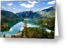North Cascades Greeting Card by Niels Nielsen